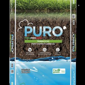 substrato per tappeto erboso